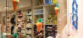 18 idéias para decorar vitrines de lojas na páscoa