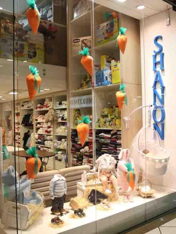 a96181f44ae 18 idéias para decorar vitrines de lojas na páscoa