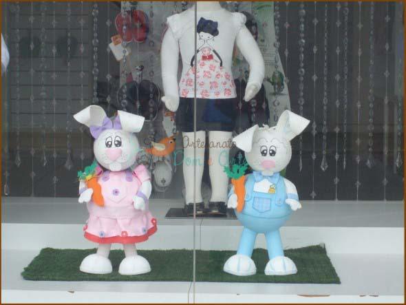 18 idéias para decorar vitrines de lojas na páscoa -> Decoração De Pascoa Para Vitrine De Loja