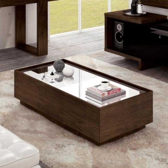 20 modelos de mesa de centro para salas pequenas for Mesas de centro pequenas