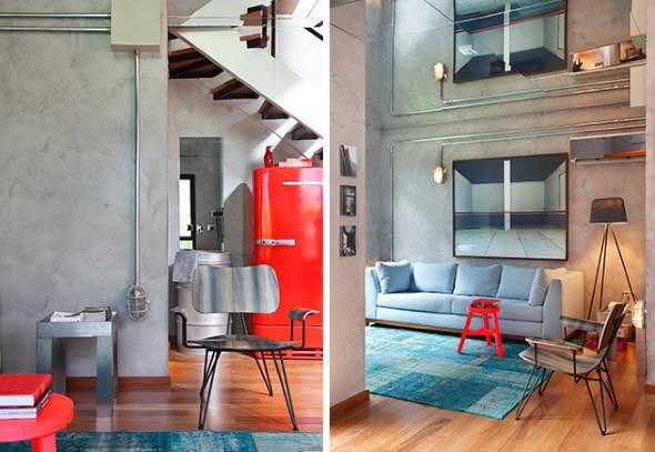 decoracao alternativa de casas : decoracao alternativa de casas:elétrica aparente também é uma alternativa bem interessante para