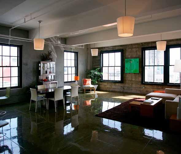 Decora o estilo industrial para casa ou apartamento for Casas de estilo industrial