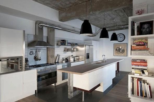 Decoração industrial para casa 012