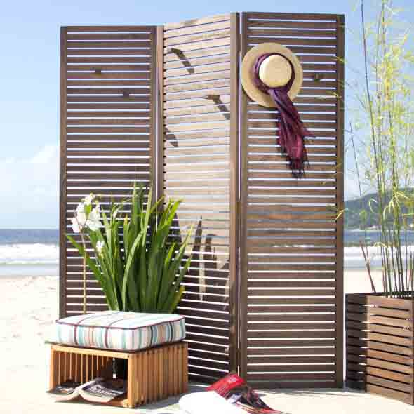 25 modelos de biombos para decorar ou separar ambientes - Decoracion con biombos ...