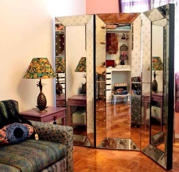 25 modelos de biombos para decorar ou separar ambientes - Biombos para decorar ...