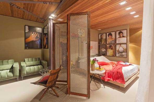 25 modelos de biombos para decorar ou separar ambientes - Biombos casa home ...