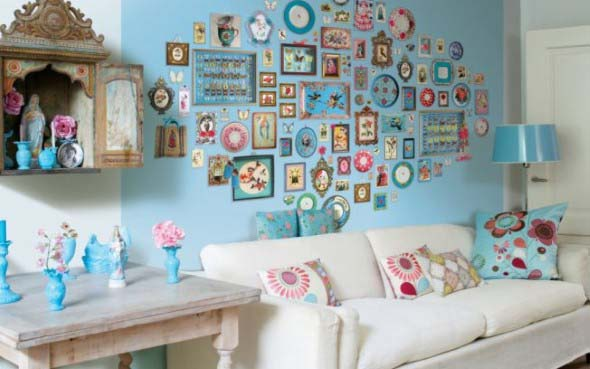 5 dicas para decorar a sala misturando estilo retro e moderno for Papel pintado para paredes baratos