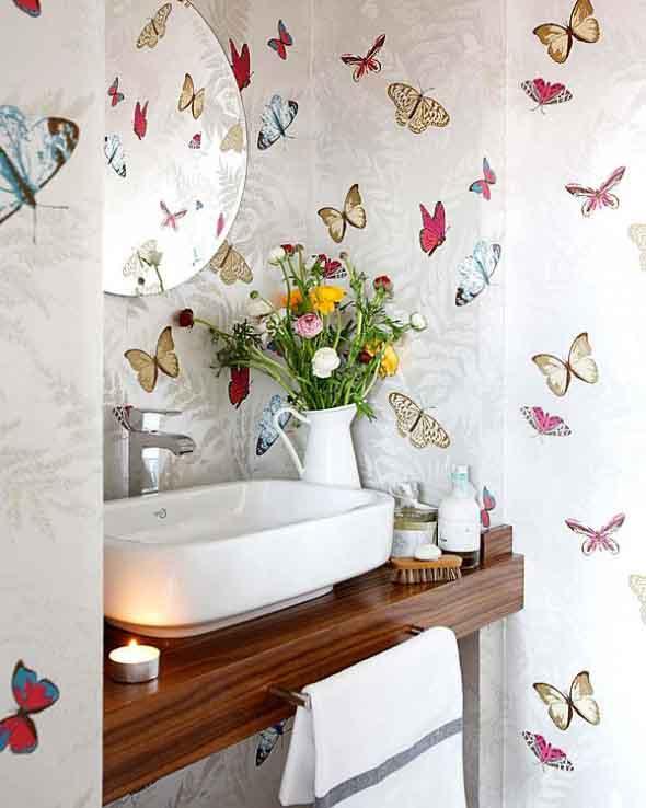 Como fazer adesivos de papel contact para decorar paredes - Papel para decorar ...
