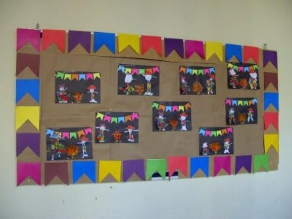 Decorar sala de aula para Festa Junina 015