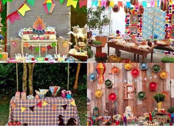 Ideias para decoração de festa junina 010