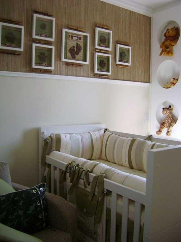 Quadro de maternidade para o quarto do bebê 004