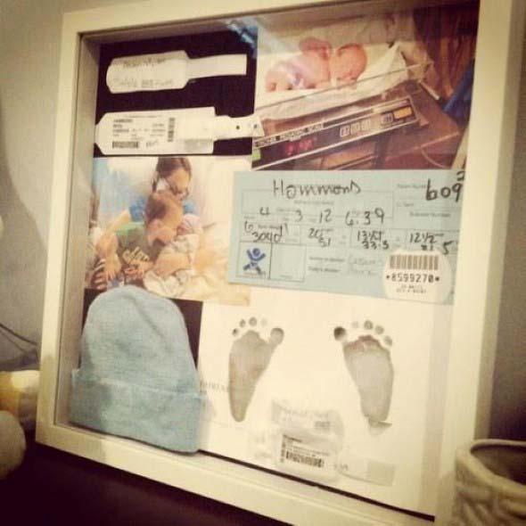Quadro de maternidade para o quarto do bebê 011