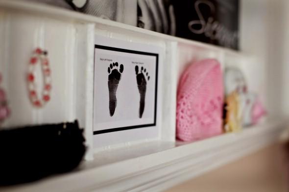 Quadro de maternidade para o quarto do bebê 012