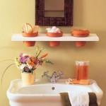 Banheiro mais organizado com uma nova decoração 001