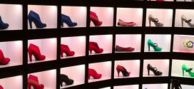 22 idéias para decorar loja de calçados