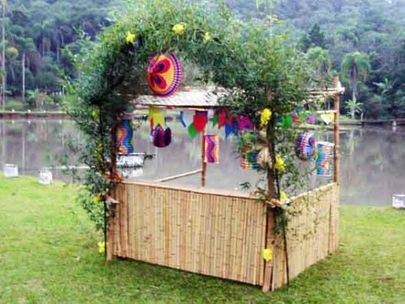 Como fazer decoração de festa junina 013