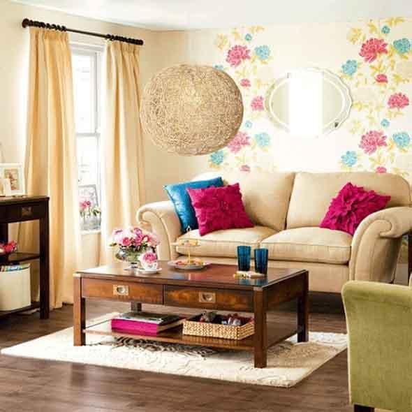 Montar Sala De Estar Pequena ~ 27 dicas de decoração para sala de estar pequena