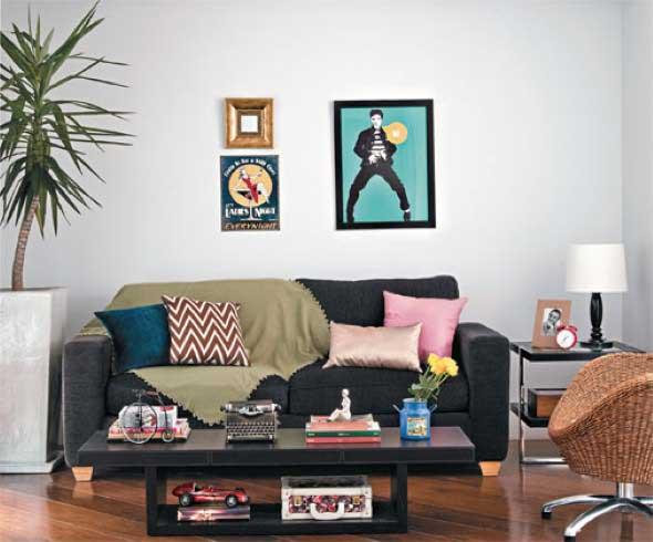 27 dicas de decoraç u00e3o para sala de estar pequena -> Vasos De Decoração Para Sala Pequena