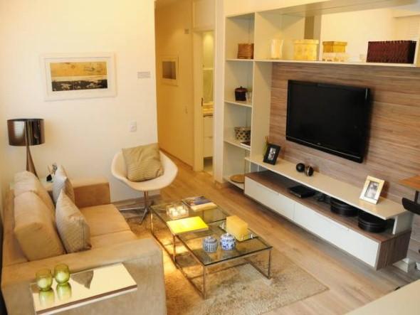 Sala De Estar Pequena Dicas ~ 27 dicas de decoração para sala de estar pequena