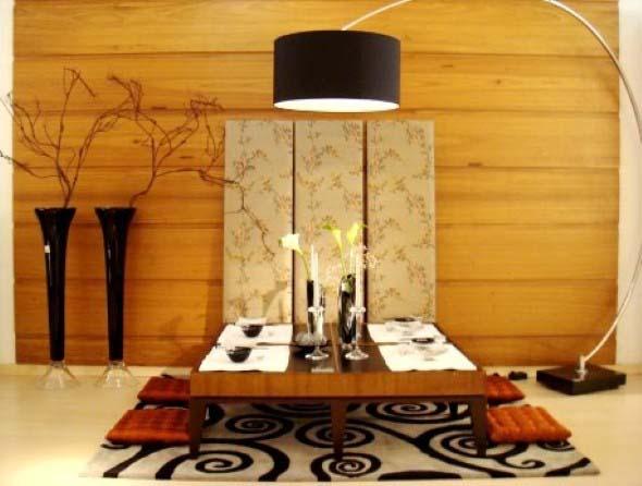 19 ideias de decoração estilo oriental e japonês para sala ~ Quarto Tipico Japones