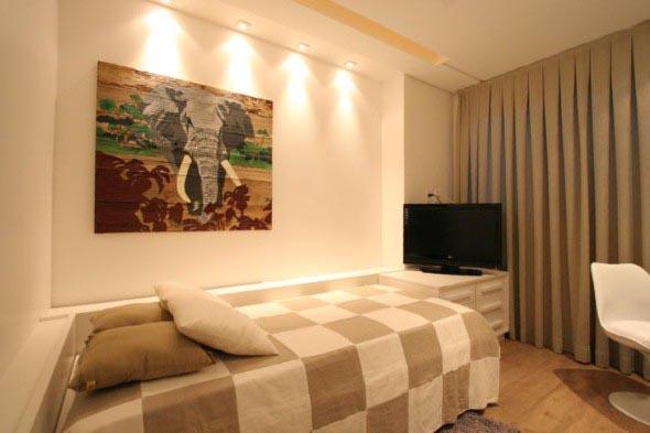 28 ideias para decorar o quarto de hóspedes ~ Quarto Solteiro Visita