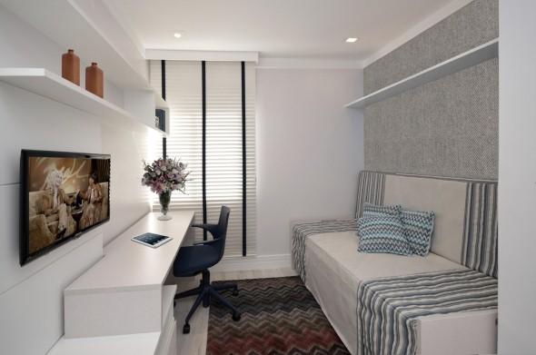 Sala Tv Quarto Hospedes ~ 28 ideias para decorar o quarto de hóspedes