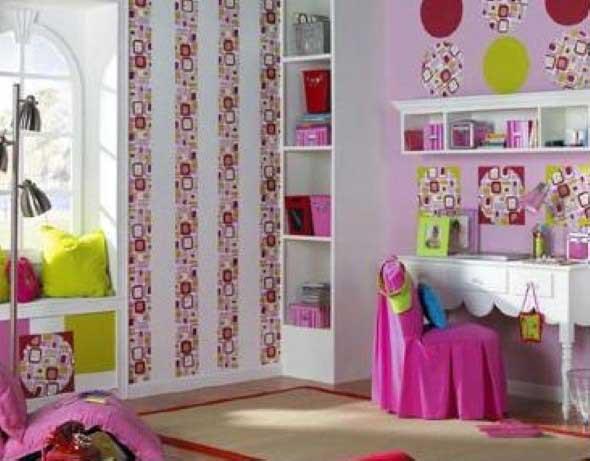 22 idéias para decorar parede com papel contact