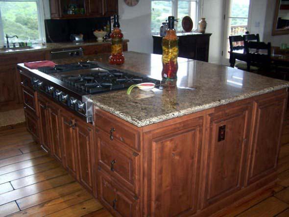 Decoração rústica na cozinha 014