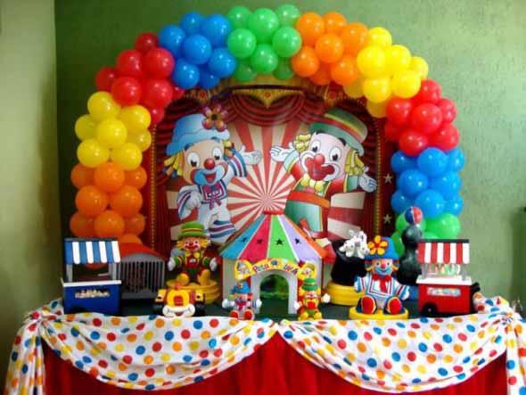 Decoração de festa para o Dia das Crianças 002