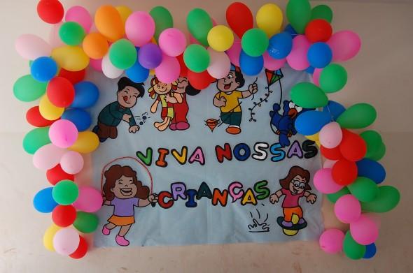 Decoração de festa para o Dia das Crianças 006