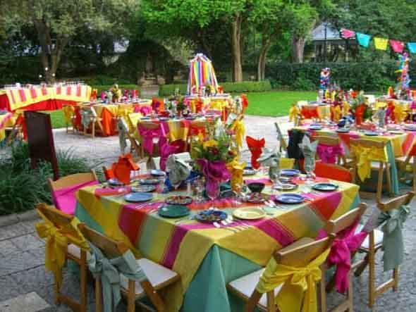 Decoração de festa para o Dia das Crianças 011