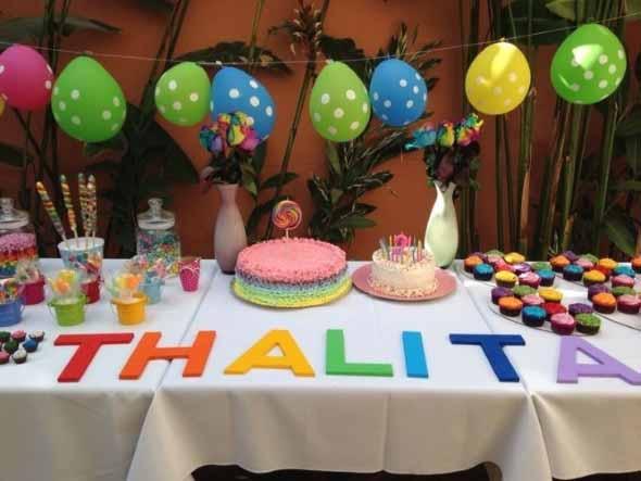 Decoração de festa para o Dia das Crianças 016