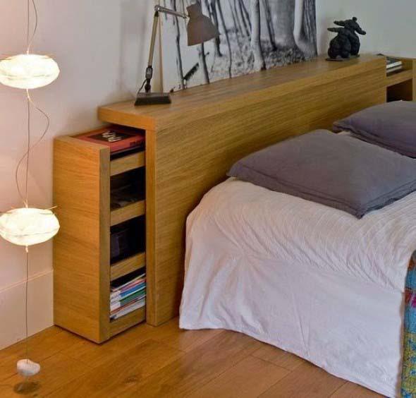 Cabeceira de cama funcional 001