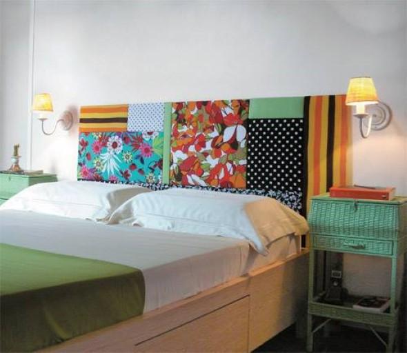 Cabeceira de cama funcional 013