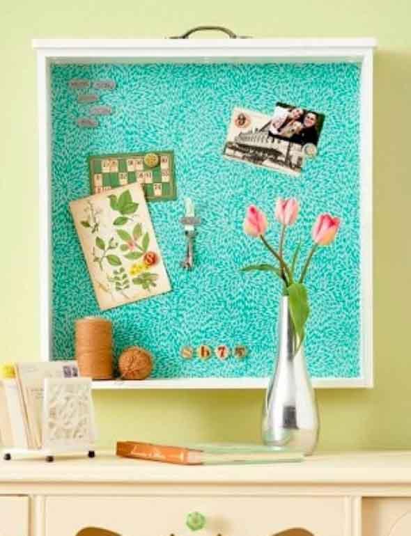 Usar gavetas como nichos decorativos 004