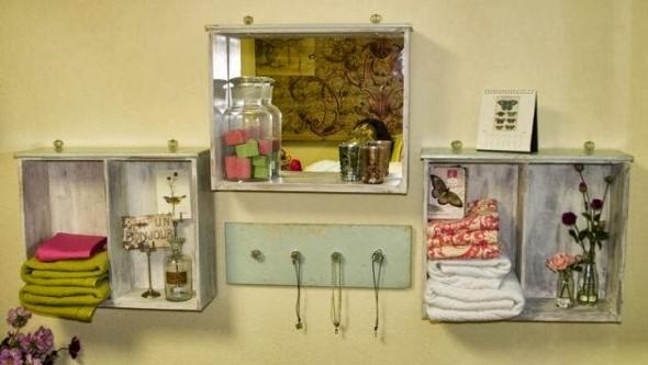 Usar gavetas como nichos decorativos 011