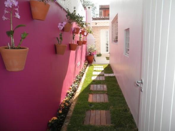 24 dicas para decorar o corredor da casa for Ideas para decorar ambientes pequenos