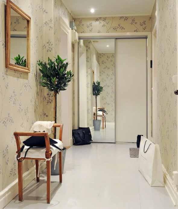 24 dicas para decorar o corredor da casa for Idea de pintura de corredor