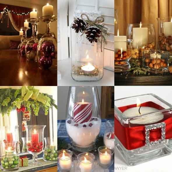 Ideias criativas para decoração de Natal # Ideias Criativas Para Decoracao De Banheiro