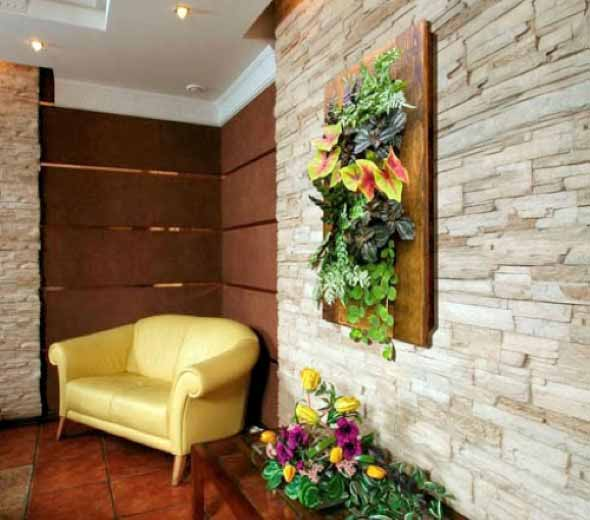 Jardins verticais para decorar casas e apartamentos 002