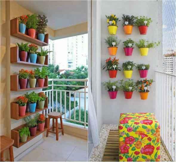 Jardins verticais para decorar casas e apartamentos 005