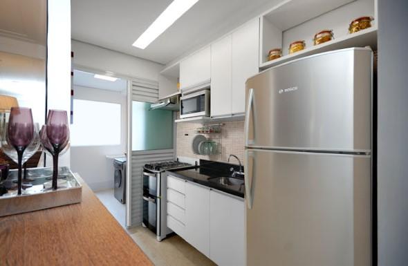 Área de serviço na cozinha 002