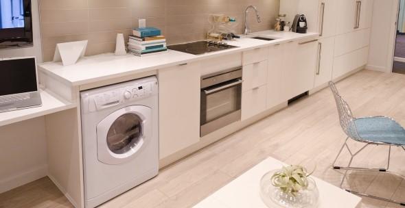 Área de serviço na cozinha 005
