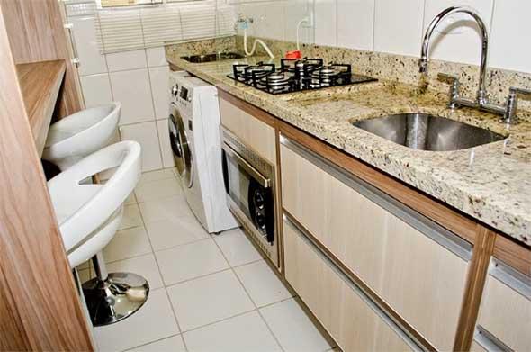 Área de serviço na cozinha 006