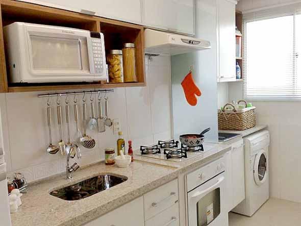 Área de serviço na cozinha 007