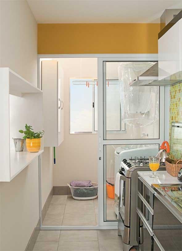 Área de serviço na cozinha 010