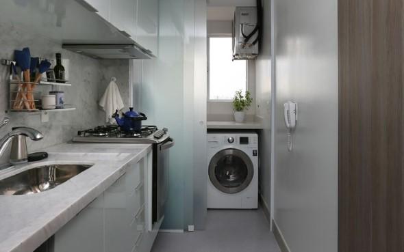 Área de serviço na cozinha 014
