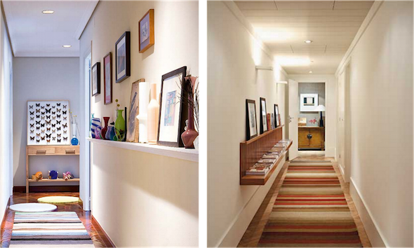 24 dicas para decorar o corredor da casa