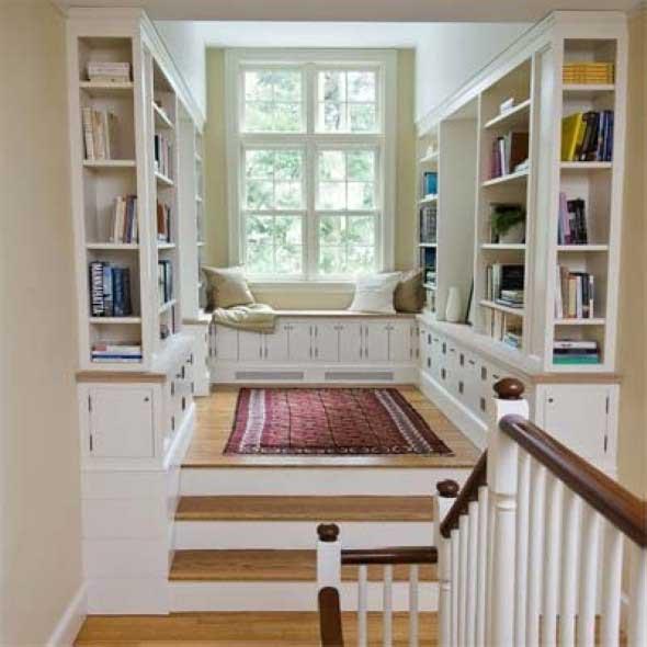 Decorando uma sala de leitura em casa for Decorando casa