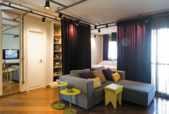 20 modelos de divis rias para substituir paredes em casa - Paredes divisorias ...